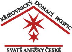 Křižovnický domácí hospic svaté Anežky České Logo
